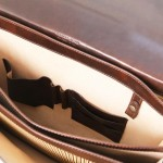 Cremona Leather briefcase 3 compartments
