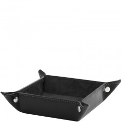 Exclusive leather valet tray Large size Leather Accessories