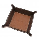 Leather valet tray Leather Accessories