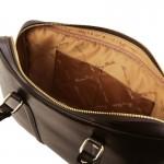 Prato Exclusive Saffiano leather laptop case Βusiness
