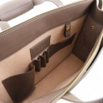 Palermo Saffiano Leather briefcase 3 compartments for women Βusiness