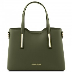 Olimpia Leather tote - Small size Leather Bags