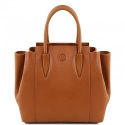 Tulipan Leather handbag Leather Bags