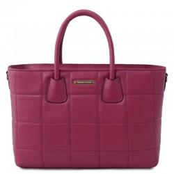 TL Bag Soft quilted leather handbag