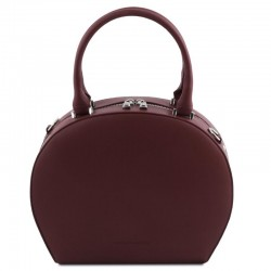 Ninfa Leather round duffle bag Leather Bags