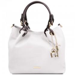 TL KeyLuck Soft leather shopping bag