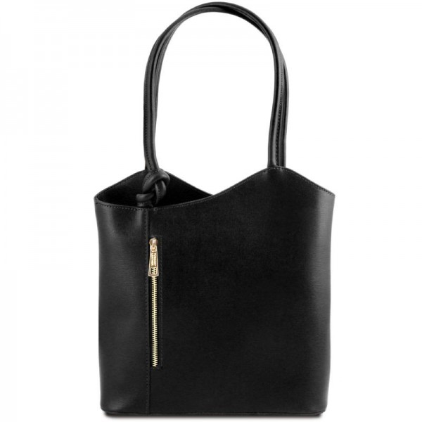Patty Saffiano leather convertible bag Leather Bags