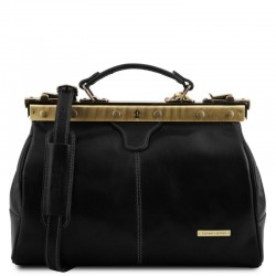 Michelangelo Doctor gladstone leather bag Βusiness