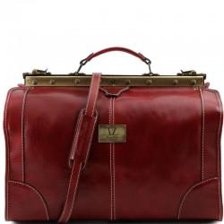 Madrid Gladstone Leather Bag - Small size Βusiness