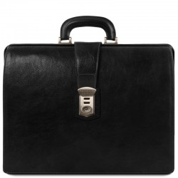 Canova Leather Doctor bag briefcase 3 compartments Βusiness
