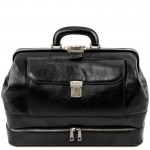 Giotto Exclusive double-bottom leather doctor bag Βusiness
