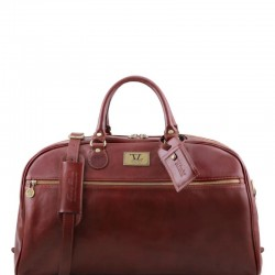 TL Voyager Leather travel bag - Large size Τypes of Travel