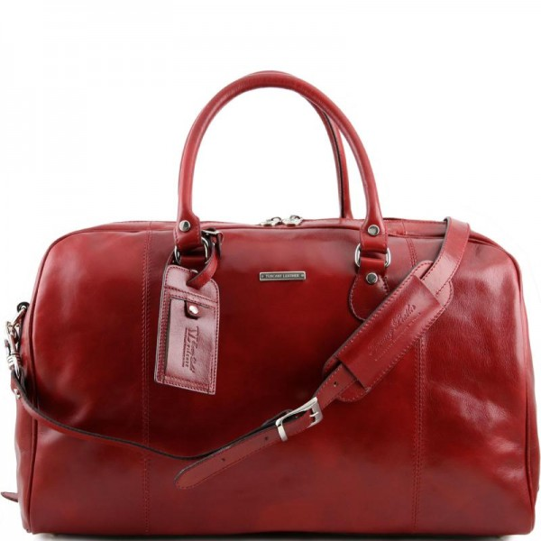 TL Voyager Travel leather duffle bag Τypes of Travel