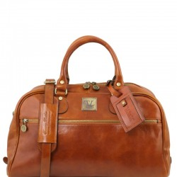 TL Voyager Travel leather bag- Small size Τypes of Travel