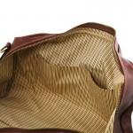 Lisbona Travel leather duffle bag - Large size Τypes of Travel
