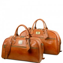 Magellan Leather travel set Τypes of Travel
