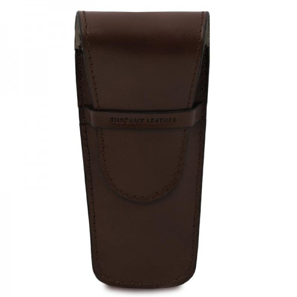 Exclusive leather 2 slots pen/watch holder Leather Wallets
