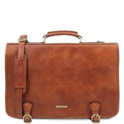 Ancona Leather messenger bag Βusiness