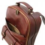 Nagoya Leather laptop backpack Βusiness