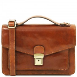 Eric Leather Crossbody Bag