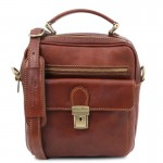 Brian Leather shoulder bag for man Small Leather Bags