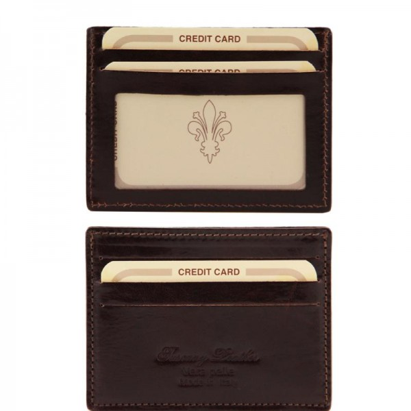 Exclusive leather credit/business card holder Leather Wallets