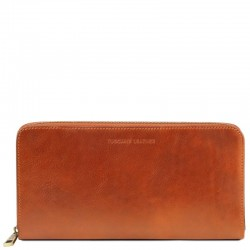 Exclusive leather travel document case Leather Wallets
