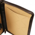 Claudio Exclusive leather document case with handle Leather Accessories