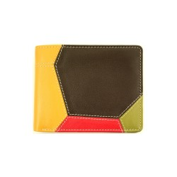men's leather wallets nappa rfid
