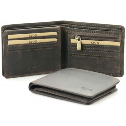 Men's Leather Wallet Kion - 159 Dark Oil