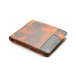 men's leather wallets premium wax
