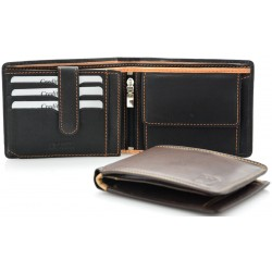 men's leather wallets antique