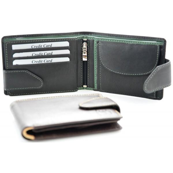 men's leather wallets antique