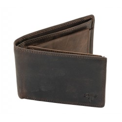 Men's Leather Wallet Kion - 8607 Dark Oil