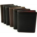 men's leather wallets one coloured and double coloured