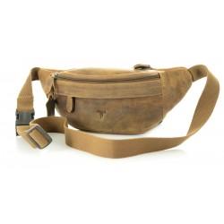 Unisex Leather Waist Bag Kion - 2179 Oil