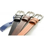Letaher Belts - leather belts in perforated design by kion