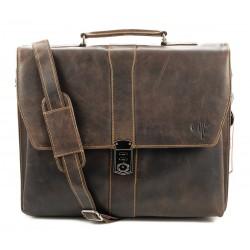 Unisex Business Leather Bag Kion - 815