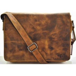 unisex leather bags in vintage leather kion