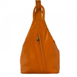 woman leather backpack dias in soft quality of leather