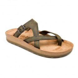 Women Anatomic Leather Sandal S307 ARIADNI KAKY BRUSH  - Fantasy sandals