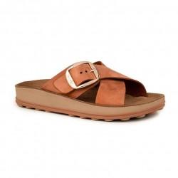 Women Anatomic Leather Sandal  S317 MISTY - ARAGOSTA NUBUCK - FANTASY SANDALS