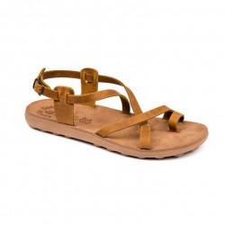 Women Anatomic Leather Sandal S406 Lolita - Taupe Brush - Fantasy sandals