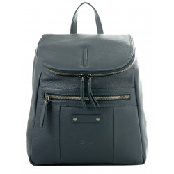 Ladies  Leather Backpack Kion - N-101 Dark Petrol