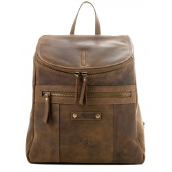 Ladies  Leather Backpack Kion - N-101 Oil