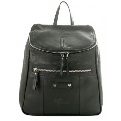 Ladies  Leather Backpack Kion - N-101 Nappa Black
