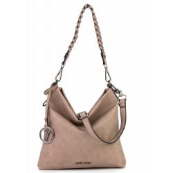 Women Leatherette Crossbody Bag Suri Frey - Crossbody bag Sand colour 11750-420