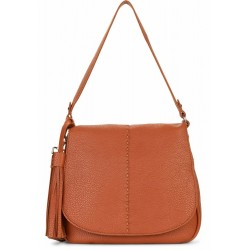 Women Leatherette Handbag and Crossbody Bag Suri Frey - 12234-700 Medium Penny flap handbag