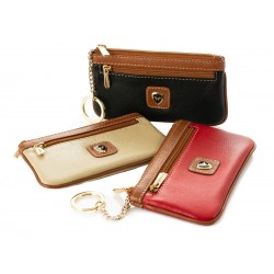 Ladies' Leather Wallet / Key Ring Kion - 12225-CF
