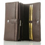 ladies' leather wallets nappa